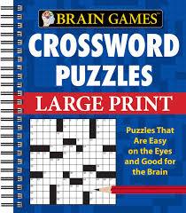 Course Designer Crossword Puzzle Clue Brain Games Crossword Puzzles Large Print Publications