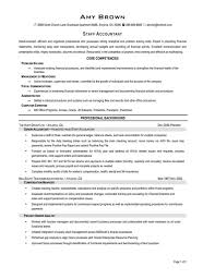 Example Accounting Resumes Accounting Resume Sample 100 Staff Accountant Fungramco Examples Of 80