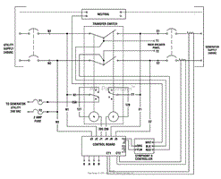 briggs and stratton power products 071070 01 150 amp transfer wiring schematic transfer switch 311454ws