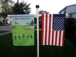 garden flag holder flag pole ideas diy