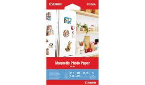 Магнитная <b>фотобумага Canon</b> Magnetic <b>Photo Paper</b> MG-101