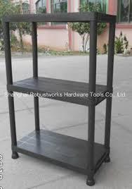3 tiers plastic storage shelf 6030p 3t