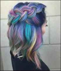 Alle farben mischen und dann damit die haare färben! Bunte Haare Farben Techniken Modische Nuancen Nutzliche Tipps