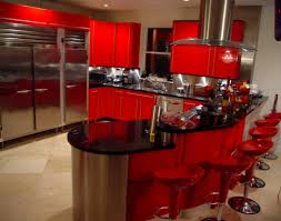 Kitchen designs red kitchen furniture modern kitchen Steel Black And Red Kitchen Designs Design Cabinets Bigbowls Ideas About Acrylics Collection Gray Modern Plan Cream Mulestablenet Image 18524 From Post Red Kitchen Design Ideas With Beautiful