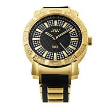 gold watches for men jcpenney jbw 562 mens 1 8 ct t w diamond two tone watch jb