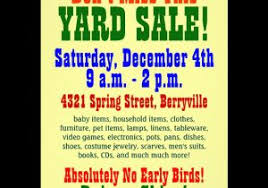 Estate Sale Flyer Template Download This Yard Sale Flyer Template