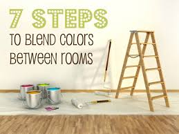 painting adjoining rooms different colors7 steps to blend colors between rooms  Colors  Pinterest  Open