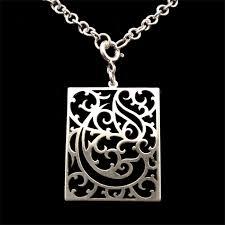 illuminated mcript sterling silver meval personalised initial pendant skadi jewellery design madeit com au