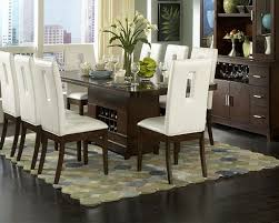 Image of: Modern Dining Table Centerpiece Design Furniture