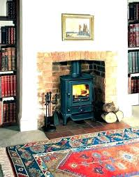 replace gas fireplace with wood stove burn change to burning