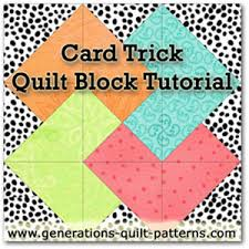 Card Trick Quilt Pattern Impressive Free Card Free Card Trick Quilt Pattern