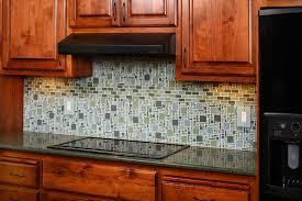 Glass Tile Kitchen Backsplash Designs Unique Decorating Design