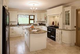 Cream Painted Traditional Kitchen