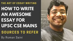 sources to refer to write an awesome essay for upsc cse mains by  sources to refer to write an awesome essay for upsc cse mains by r saini