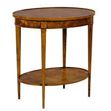 oval side table. 34459 - Oval Side Table Ash, ASH MEDIUM, 2