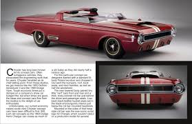Traveler Magazine: 2010 12 1964 Dodge Hemi Charger Concept Page 2
