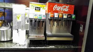 Lemonade Vending Machine Fascinating Soda Fountain In Alaska Lounge At SEA Soda Fountain In Ala Flickr