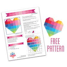 National Sewing & Quilting Month with Fat Quarter Shop | Fat ... & My heart · free heart pat Adamdwight.com