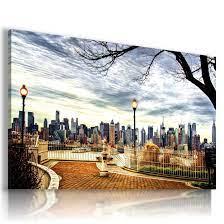 NEW YORK CITY PARK View Canvas Wall Art ...