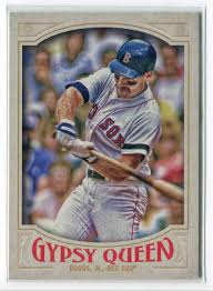 2016 Topps Gypsy Queen Wade Boggs #330 on Kronozio