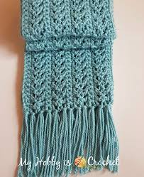 Crochet Scarf Pattern Free Gorgeous My Hobby Is Crochet Go With The Flow Super Scarf Free Crochet