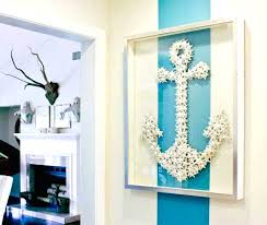 beach themed wall decor with frame home interior exterior room decorating ideas