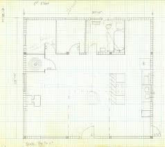 How To Draw A House Plan On Graph Paper House Plans Drawing Paper
