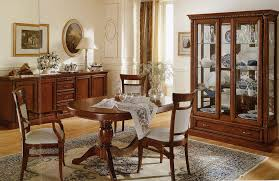 excellent decorating italian furniture full. Mahogany Wooden Sideboard With Elegant Round Dining Table For Excellent Italian Room Decorating Ideas Furniture Full S