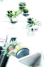 modern wall planter planters uk modern wall planter