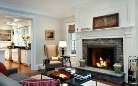 fireplace paint ideas painting fireplace brick