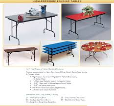 detailed specifications item no cf60px item name 60 round high pressure top folding table