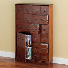 wood atorage cabinet with thepaceaving dvd hammacher black tower real bedfordolid low a storage