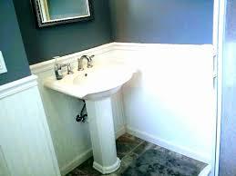 home depot bathroom pedestal sinks new pedestal sink measurements first i measured pelechfo home depot bathroom