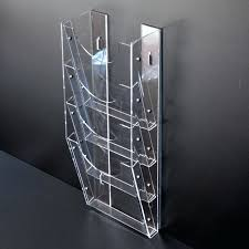 Clear Acrylic Magazine Holder Simple Acrylic Magazine Holder Clear Acrylic Magazine Holders Display
