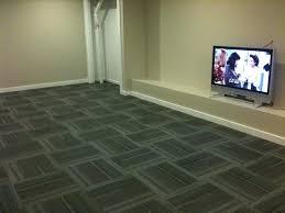 basement carpeting ideas. Basement Carpet Ideas Image Of Natural Interlocking Squares Tiles Design Enchanting Tile: Large Size Carpeting