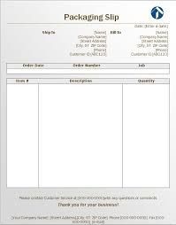 Generic Packing Slip 13 Free Packing Sliptemplates Word And Excel ...