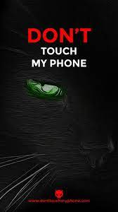 Don't Touch My Phone Cute Cat ...