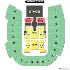 71 Thorough Vanderbilt Stadium Seat Chart
