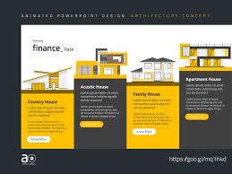 Design Presentation Templates Arc Animated Presentation Template Housing Development By