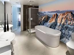 Gorgeous Flowers And Trees Pattern Waterproof 3D Bathroom Wall Bathroom Wallpaper Murals