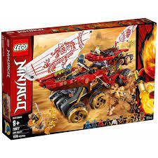 Mô hình đồ chơi lắp ráp LEGO NINJAGO Chiến Hạm Bounty 70677 ( 1178 Chi tiết  )