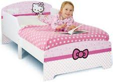 hello kitty bedroom furniture. hello kitty toddler bed pink character design junior bedroom lovable furniture w