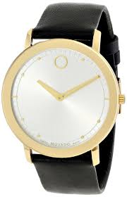 watches men gold movado men s 0606695 movado tc gold plated gold watches men movado