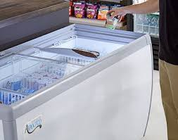 commercial display coolers freezers