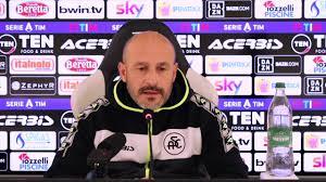 Le parole di mister Italiano alla vigilia di Spezia - Sampdoria - YouTube