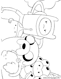 Small Picture cartoon network adventure time Coloring pages Printable