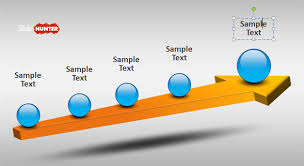Free 3d Timeline Template For Powerpoint With Arrow Free