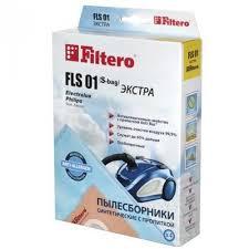 <b>Мешок</b>-<b>пылесборник Filtero</b> Эконом E/<b>FLs01</b> 4 шт купить в г ...