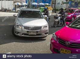 Oct. 11, 2012 - Bangkok, Thailand - A Toyota Camry pulls a u-turn ...