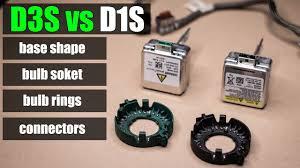 Wagner Lighting D1s D3s Vs D1s Base Shape Bulb Soket Bulb Rings Connectors